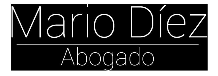 Mario Díez – Abogado